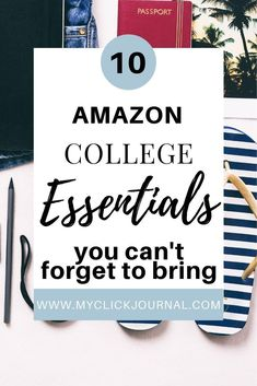 Here are 10 amazon college essentials you need as a freshman in college! These study essentials are all available on amazon, and also include dorm room essentials on Amazon. Check them out! College Must Haves, College List, College Fun, College Dorm Essentials, Room Essentials, Dorm Room Organization, Cute Coffee Mugs, Moving Day, Freshman Year