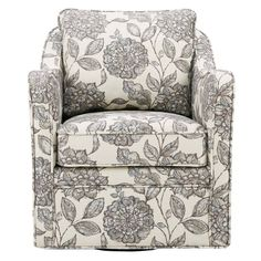 Shop Madison Park Betty Swivel Chair - On Sale - Overstock - 16340424 - Navy Swivel Barrel Chair, Swivel Armchair, Modern Armchair, Home Living, Living Room, Small Living, Toss Pillows, Club Chairs, Dining Chairs