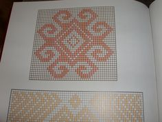 Mapuche weaving from Southern Chile Cross Stitch Borders, Cross Stitch Designs, Cross Stitch Patterns, Tapestry Crochet Patterns, Weaving Patterns, Inkle Loom, Card Weaving, Beaded Necklace Patterns, Palestinian Embroidery