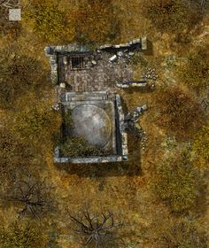Ruined Keep in the Forest by hero339.deviantart.com on @deviantART