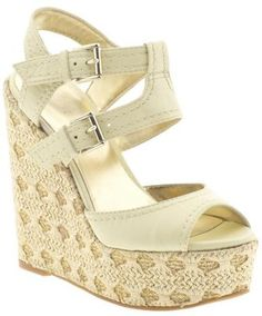 I love wedges in the summer.