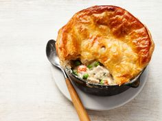 Get this all-star, easy-to-follow Chicken Pot Pie recipe from Katie Lee