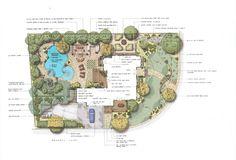 master plans sisson landscapes site plans graphics. Black Bedroom Furniture Sets. Home Design Ideas