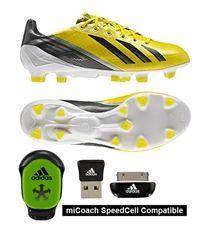 2ae034c50 Adidas F50 adizero (Synthetic) TRX FG Soccer Cleats (Vivid Yellow Black