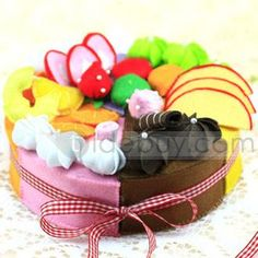 Colorful Handmade Nonwoven Cakes of All Flavours Artifacts