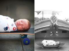 #Skateboard #Newborn San Diego Wedding Photographer » Family Photographer, Wedding Photographer, Engagement, Newborn, Portraits