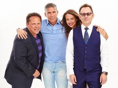 Kevin Chapman, Jim Caviezel, Amy Acker and Michael Emerson