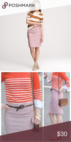 J. Crew No 2 Pencil Skirt Size:4 LIKE NEW 15% off on bundles. I ship same-day from pet/smoke-free home.Buy with confidence. I am a top seller with close to 400 5-star ratings and A LOT of love notes. Check them out. 😊😎 J. Crew Skirts Pencil