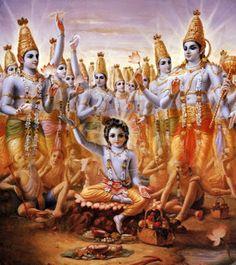 Hindu Art: Krishna Expands Himself as Cowherd Boys Hare Krishna, Krishna Lila, Krishna Radha, Radha Krishna Pictures, Lord Krishna Images, Iskcon Krishna, Lord Krishna Wallpapers, Krishna Painting, Hindu Deities