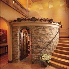 Indoor wine cellar