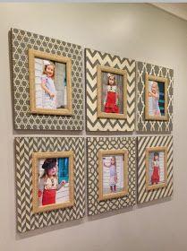 Delta Girl Distressed Frames: 6 of a kind….