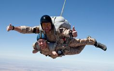 You go girl! Gabby Giffords skydives on the 3rd anniversary of the Tucson shooting