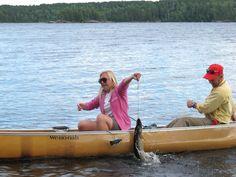 Human Powered Pike Fishing!