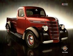 A 1939 International D-Series Pickup was given a new 390 c.i. MaxxForce 7 Diesel V-8 in 2008. The frame was reinforced to handle this 350 HP engine and the resultant 650 lb-ft. of torque. Also added: adjustable air suspension and 18-inch rims