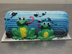 Frogs on a log.. .
