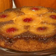 Pinneapple Upside Down Cake!!  Rave reviews!