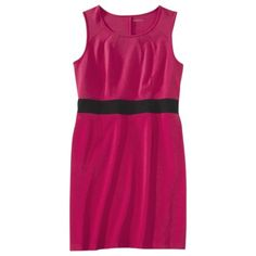 Merona® Women's Plus-Size Sleeveless Ponte Dress - Assorted Colors $27.99