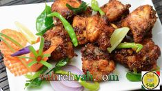 Chicken 65 is a spicy, deep-fried chicken dish originating from Chennai, India, it is a quick lip-smacking snack. Roast Recipes, Curry Recipes, Cooking Recipes, Cooking Videos, Veg Recipes, Chicken Recipes Video, Easy Chicken Dinner Recipes, Recipe Chicken, Easy Baked Chicken