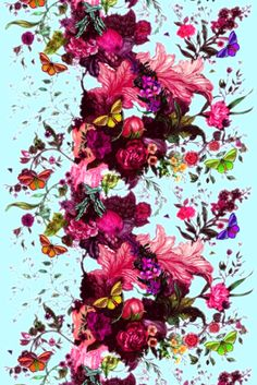 Timorous Beasties Fabric - Butterfly Blurr Fi, thats the fabric my blind is in studio