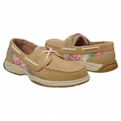 Women's Sperry Top-Sider Intrepid Linen Pink Madras FamousFootwear.com