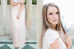 Blush dotted maxi skirt as worn by LAURA JANSEN by Rensche Mari #swishdresses #ss14 Portraits, Blush, Make Up, Gowns, Bespoke, Skirts, Dresses, Vestidos, Taylormade