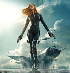 Superhuman: Scarlett Johansson as Natasha Romanov, AKA Black Widow, in Captain America: Winter Soldier