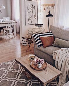 Home Decoration Living Room Info: 4833837080 Cozy Living Rooms, Interior Design Living Room, Living Room Decor, Inspire Me Home Decor, Casa Hygge, Home Decor Instagram, Cozy House, Home Design, Diy Room Decor