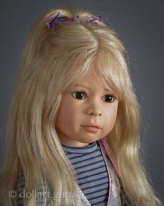 Jamilia. Коллекционная кукла Heidi Plusczok | Doll Art Guru