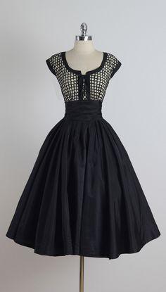 Vintage 1950s Paul Sachs Dress