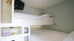 Snoozebox - a hotel room in a shipping container (there are 400+ at the Olympics right now)