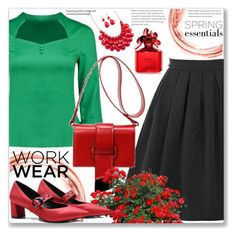 """""""Work Wear"""" by jecakns ❤ liked on Polyvore featuring Marc Jacobs"""