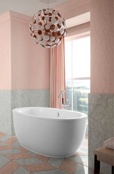 Luxury Kohler Escale Freestanding Tub