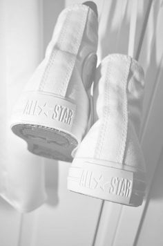 Wear For Love Inspired WHITE CONVERSE ALL STARS