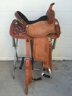 CSB 570 Corriente Barrel Saddle
