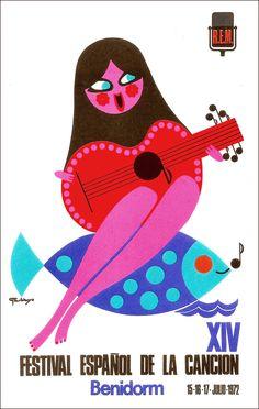 70's illustration