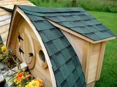 Hobbit Hole! (For Chickens)