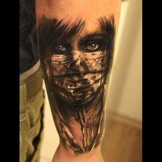 """@gkodzhabashev's photo: """"Done at Black & White Tattoo studio Karlsruhe,Germany.  @sorrymomtattoo"""""""