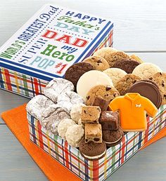 Fathers Day Treats Gift Tin | Father's Day Gifts | Cheryls.com | Check out more great gifts to celebrate your dad this year!