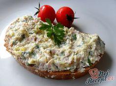Recept Celerová pomazánka Slovak Recipes, Czech Recipes, Ethnic Recipes, Great Recipes, Healthy Recipes, Baked Potato, Baking Recipes, Ham, Appetizers