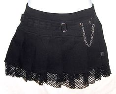 Not a fan of skirts but this is a must have. Goth Skirt, Sexy Skirt, Dress Skirt, Pleated Skirt, Pixie Outfit, Skirt Fashion, Fashion Outfits, Skirt Images, Gothic Lolita