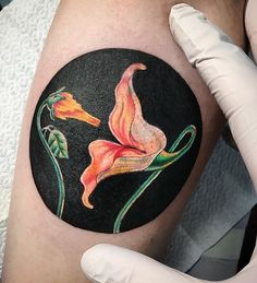 Flowers from the animated musical film by Love Tattoos, Tattoos For Guys, Tatoos, Imagenes Pink Floyd, Plant Tattoo, Inked Magazine, Piercing Tattoo, Color Tattoo, Tattoo Inspiration