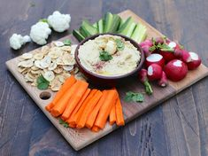 The roasted cauliflower and tahini blend into a creamy, zesty, and lighter hummus that's made for dipping! Nobody will even notice the missing beans. Serve with a rainbow of veggies for ultimate nourishment + satisfaction. * Serves 4-6 Ingredients 1 medium to large head of cauliflower 1 tablespoon olive oil (for roasting the cauliflower) 1 large …