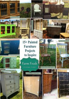 15+ Before and After Painted Furniture Ideas - Farm Fresh Vintage Finds