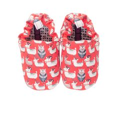 Poco Nido Red Baby Shoes – serendipitykids.ie