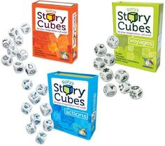 Rory's Story Cube Complete Set - Original - Actions - Voy...