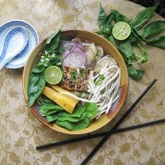 Plant based pho, a vegan alternative to the beefy original Recipe on Food52 recipe on Food52