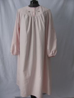 cotton flannel nightgown by Susannassewing on Etsy