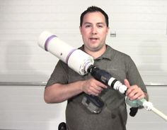 Pneumatic PVC Nerf Gun