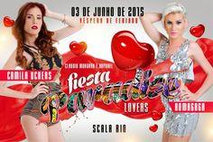 Divulg@rtes.com: Fiesta Paradise Lovers com Romagaga e Camila Ucher...