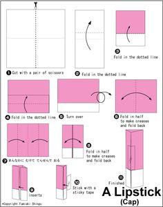 Origami Lipsticks